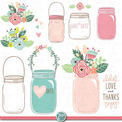 Jar Wedding Clipart by Draw Jar Clipart Quot Wedding Jar Quot Clip