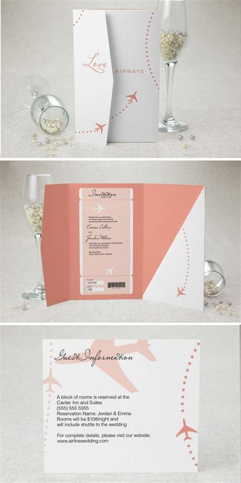 themed wedding invitations 11 travel themed wedding invitations knotsvilla