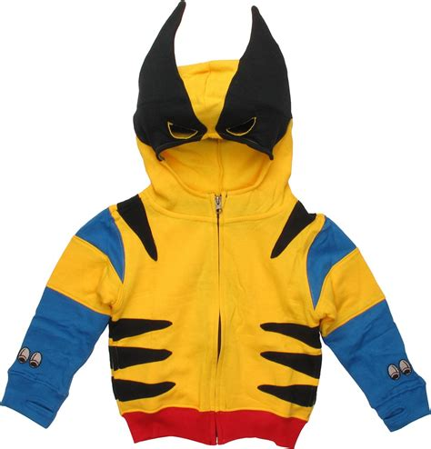 Hoodie Xmen The Wolverine 10 Anime wolverine classic costume toddler hoodie