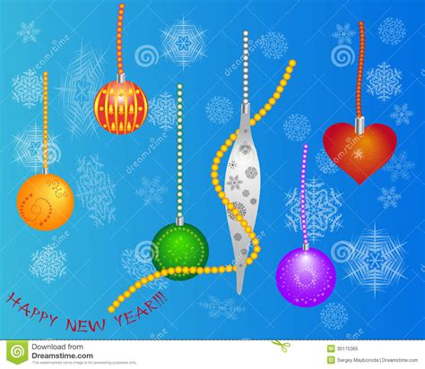 new year toys and new year toys royalty free stock photo image 35175365