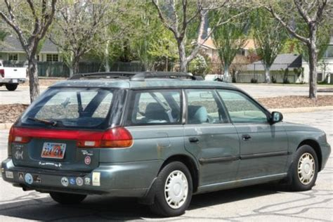 1995 subaru legacy l wagon buy used 1995 subaru legacy l outback wagon 4 door 2 2l