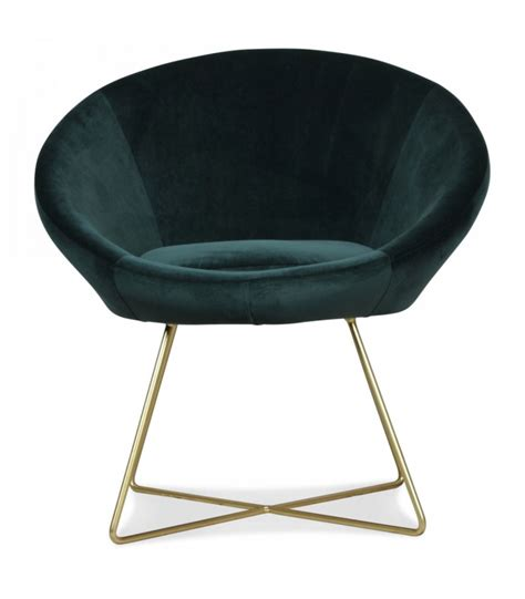 fauteuil rond velours fauteuil rond velours vert menthe pieds m 233 tal dor 233
