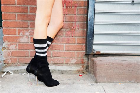 sock boots without heel how to make your own vetements shoes without spending a