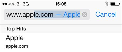Search Goes To Address Bar Safari An In Depth Guide For Iphone In Ios 7