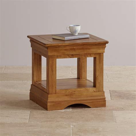 Farmhouse Side Table Farmhouse Side Table In Rustic Oak Oak Furniture Land