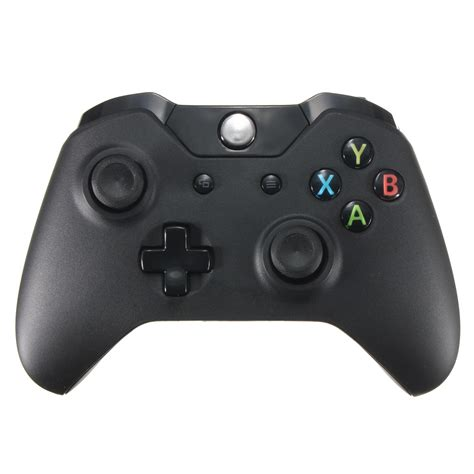 Gamepad Microsoft black wireless controller gamepad pad for microsoft pc xbox one alex nld