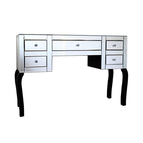 Mirrored Changing Table Furniture Aphrodite Veian Mirrored Dressing Table Mirrored Dressing Table With Drawers Mirrored