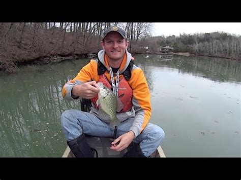 early spring crappie fishing  gulp minnows youtube