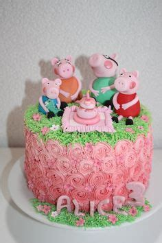 Pig cake more cakes fondant peppa pig birthday cake peppa pig cake