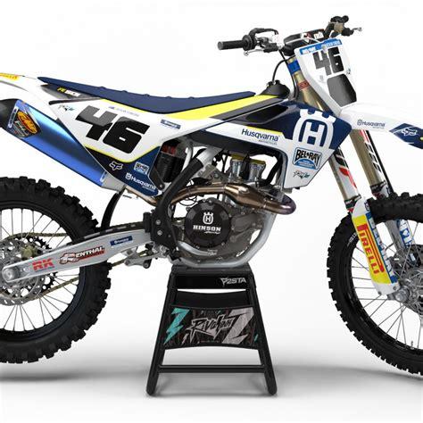 Blue Print Custom Decal Huswarna husqvarna graphics rival ink design co custom motocross graphics