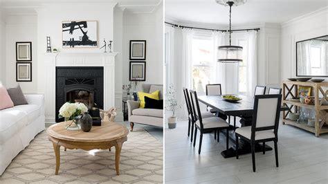 home design tour interior design tour a bright black and white family