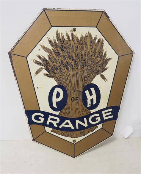 P Of H Grange by P Of H Grange Sign