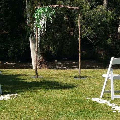 Wedding Arch With Wisteria by Wedding Arch With Wisteria Ceremonies I Do