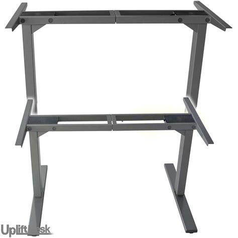sit stand desk frame uplift 900 standing desk bases silver frame