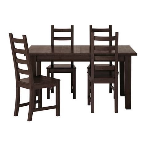ikea dining room table and 4 chairs storn 196 s kaustby table and 4 chairs ikea