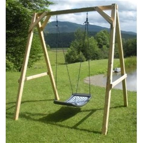 multi child swing how to build a frame for a child s swing woodworking