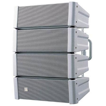 Speaker Toa Indoor toa electronics hx 5 variable dispersion line array indoor speaker single white hx5w
