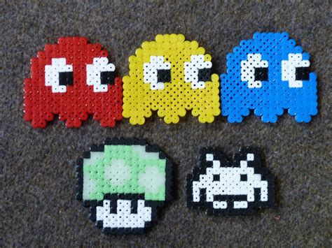 construct 2 pacman tutorial how to make pacman ghosts more hama beads tutorial