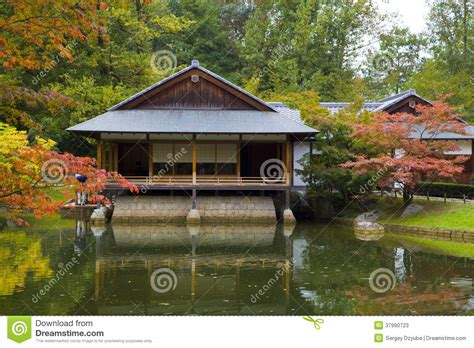 tea house business plan tea house reflecting in pond in japanese garden