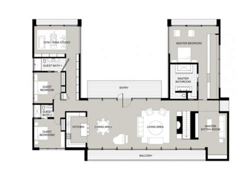 great house plans fascinating great house plans for l shaped plot on u with
