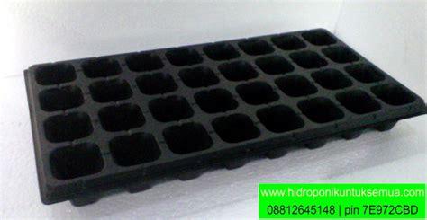 Jual Tray Semai Yogyakarta tray semai 32 lubang tanam jual alat bahan media hidroponik