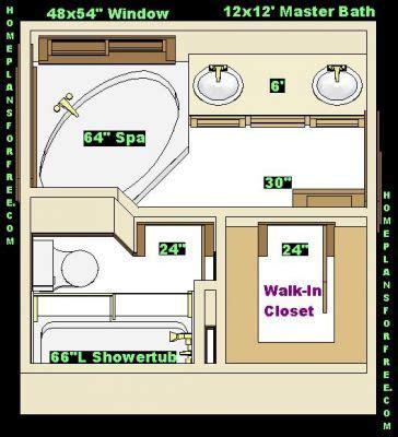 12 x 12 bathroom designs free bathroom plan design ideas master baths 12x12
