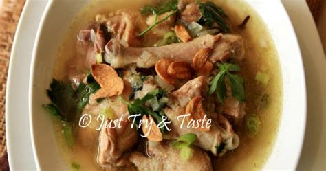 Resep Pilihan Soto Sup Favorit just try taste resep sup ayam kung