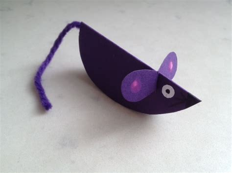 Mouse Paper Craft - paper mouse mouse craft mouse craft tutorial mice craft