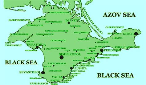 map ukraine crimea crimea maps