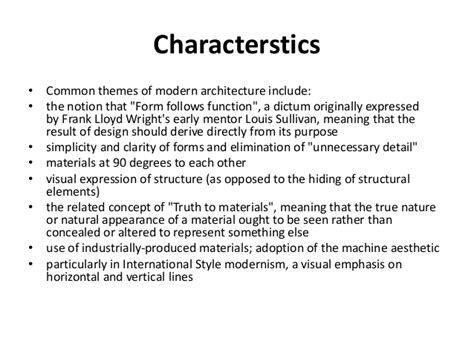 contemporary themes meaning modernism postmodernism in architecture