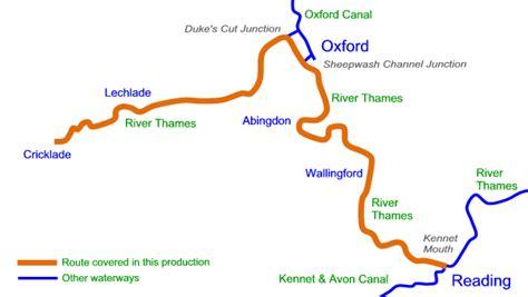 thames river route river thames upper cruising map in acrobat pdf format