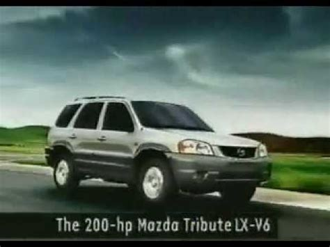mazda tribute tv ad zoom zoom commercial
