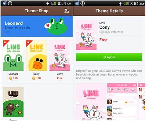 theme changer line for iphone 4 line theme changer support android line 4 0 thirty party