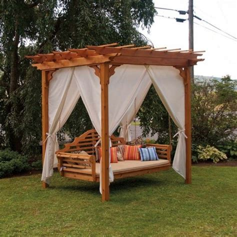 backyard swing plans pdf diy pergola swing bed plans download picnic table