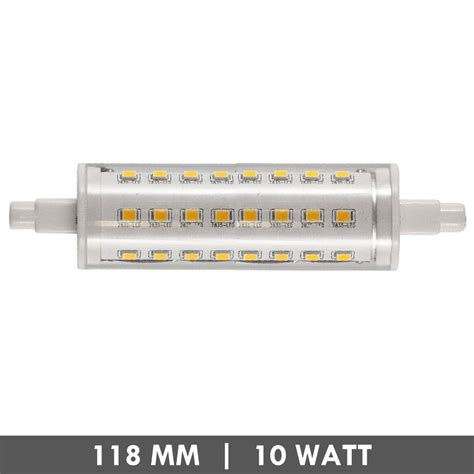 Lu Led Hannoch 7 Watt et48 r7s led l 118mm 10 watts dimmable et48