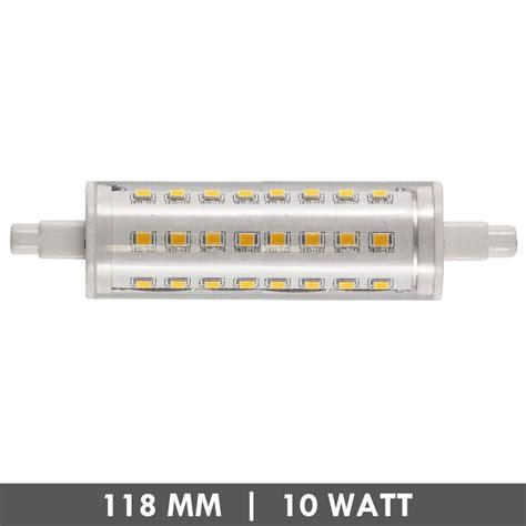 Lu Led Hannochs 10 Watt et48 r7s led l 118mm 10 watts dimmable et48