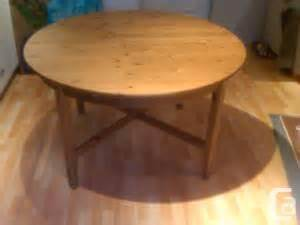 Ikea Dining Table Vancouver Ikea Dining Table Leksvik Coquitlam For Sale