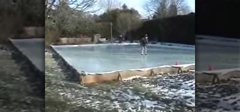how to build a backyard ice rink how to flood the backyard to make an ice hockey rink 171 hockey