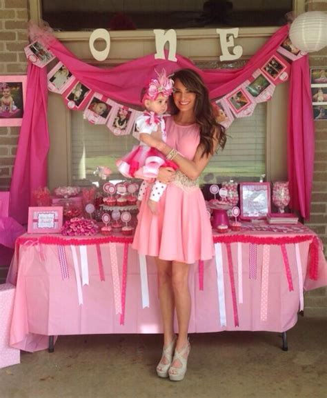 themes first birthday party baby girl 1st birthday ideas my baby almost one time flies