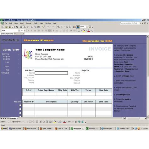 software templates free find free accounting software for excel