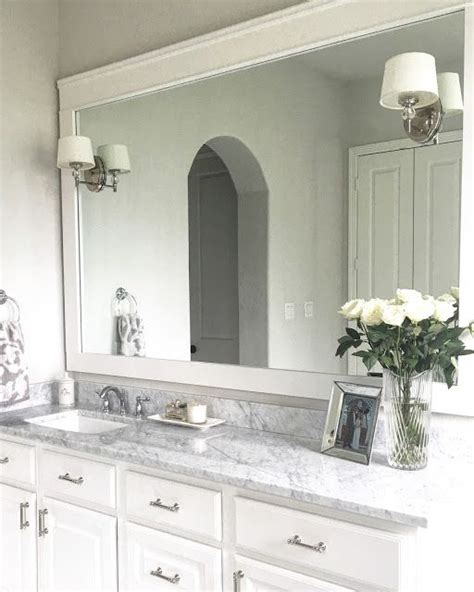 bathroom mirror trim best 25 mirror trim ideas on pinterest bathroom mirrors