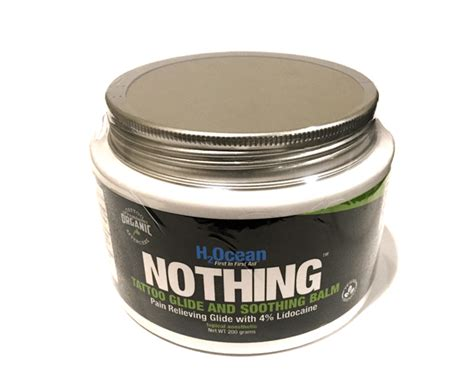 tattoo aftercare nothing on it nothing tattoo glide soothing balm h2ocean products