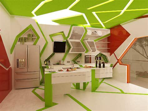 The Kitchen Design Studio Cubism In The Kitchen By Gemelli Design Studio Design Milk