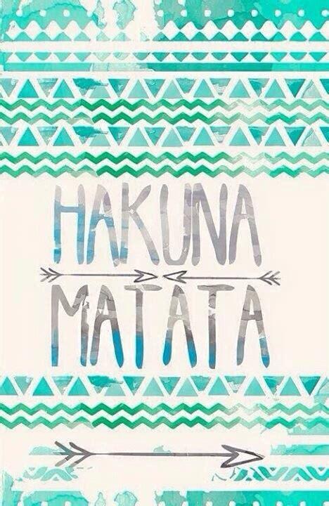 Hakuna Matata Home Screen Wallpaper Quotes Iphone hakuna matata image 4371654 by sharleen on favim
