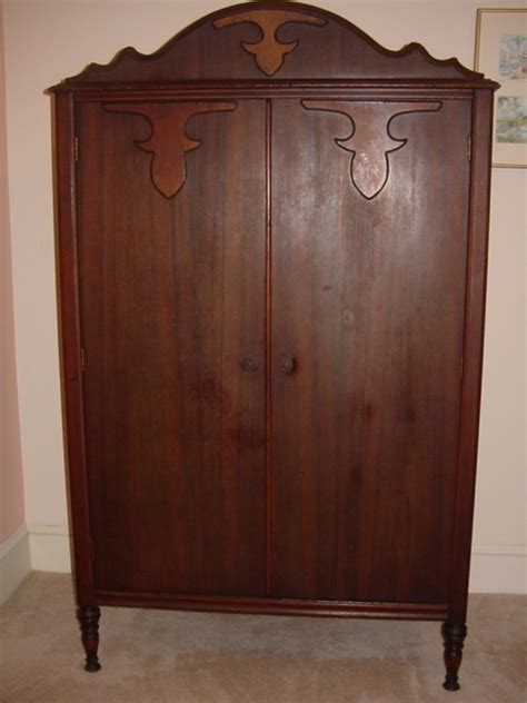 antique armoire wardrobe unknown