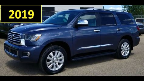 2019 Toyota Sequoia Redesign by The 2019 Toyota Sequoias Redesign Car Model 2019