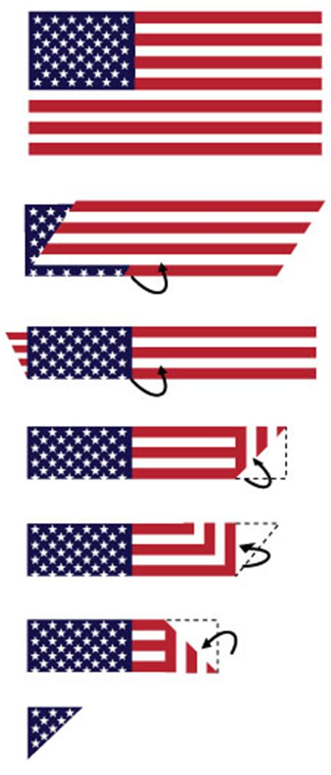 how to fold the american flag folding the flag how to