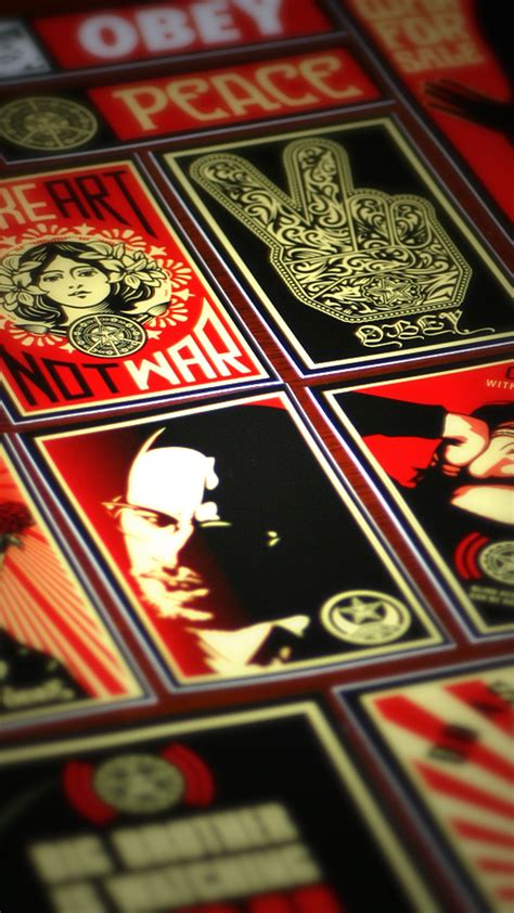 obey wallpaper   awesome wallpapers