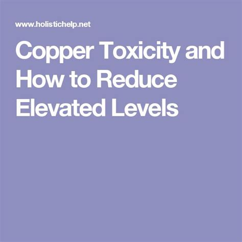 Copper Detox Foods by 67 Best Copper Antidote Diseases Zinc Manganese