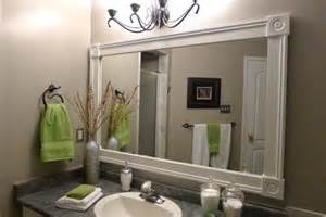 bathroom mirror frame with white molding gray and green ideas about mirrors pinterest framed